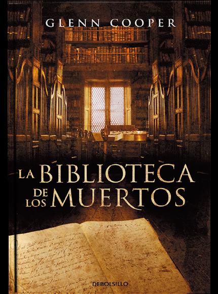 La biblioteca de los muertos - cover