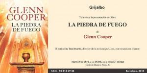 Glenn Cooper Book Tour